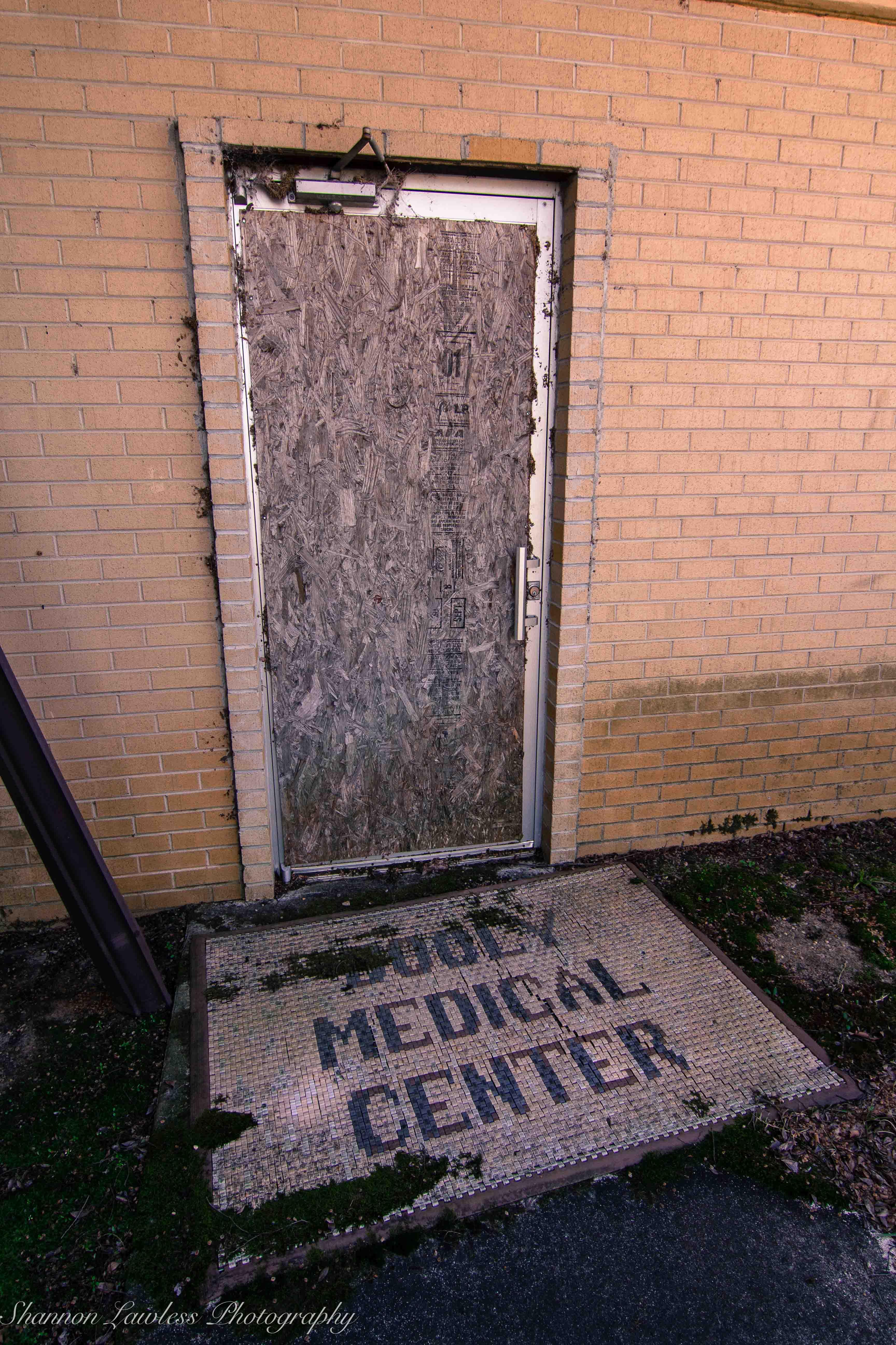 Dooly Medical Center Door Mat